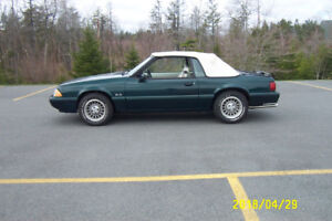 RARE ORIGINAL 1990 7 UP EDITION MUSTANG 1 OF 261 MADE FOR CANADA