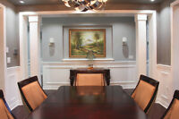 PROFESSIONAL INSTALL*CROWN MOULDING*WAINSCOTING*COFFERED CEILING