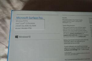 New Microsoft Surface Pro 5
