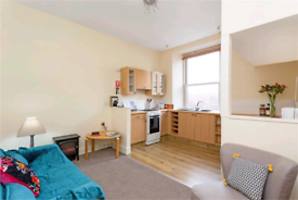 One bedroom furnished flat for rent in Leith
