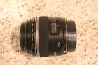 Canon EF-S 60mm f/2.8 Macro with filter