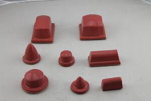 Pad printing Silicone rubber pad Red Color Soft Head