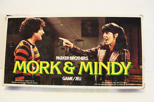 1979 Mork and Mindy Board Game Robin Williams Parker Brothers