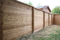 NEW FENCES AND FENCE REPAIRS BEST QUALITY AND PRICES!