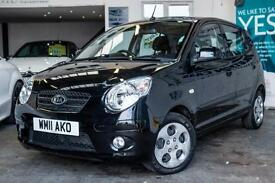 2011 KIA PICANTO 1.1 DOMINO 5DR NEW MOT & SERVICE! £30 CAR TAX ONE OWNER PLUS DE