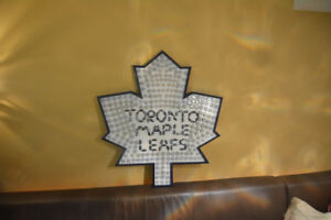Toronto Maple Leafs Beer Cap Art For Sale!