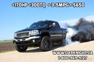 MASSIVE FUEL MILEAGE TUNING FOR YOUR 01-07 DURAMAX