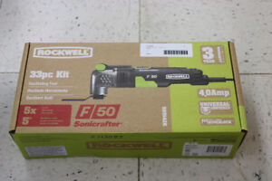 **NEW IN-BOX** Sonicrafter F50 33pc Kit Oscillating Tool - 16811