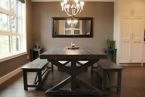 Reclaimed Wood Dining Table starting @ $2195 and More! By LIKEN Woodworks