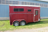 2 Horse Bumper Pull Trailer For Sale
