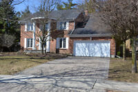Completely updated executive home backing on protected forest