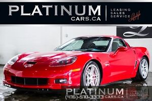2008 Chevrolet Corvette Z06/ 3LZ/ NAVIGATION/ HUD/ BOSE SOUND/