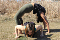 Strength and Stretch Outdoor Bootcamp