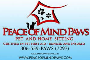 Peace of Mind Paws Pet and Home Sitting