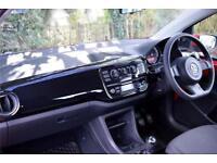 2015 Volkswagen UP move up! EU6 1.0 60 PS 5-speed manual 3 Door Petrol red Manua