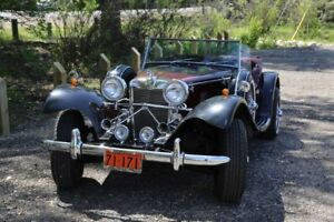 1939 Duke Jaguar SS100 replica Car- one of a kind