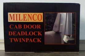 Milenco Motorhome Cab Door Deadlock Twinpack