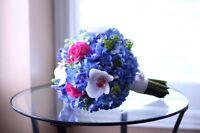 Wedding florist - Raindrops on Roses