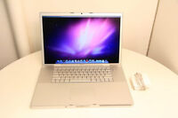 "17"" Inches Macbook Pro 2.4GHz 160GB 4GB RAM"