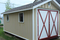 Utility Shed - 10' by 20' - Deer Lake