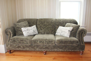 Couch and chair in excellent condition