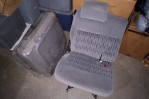 Rear Bucket Seats (pair) from 2002 Chevy Venture