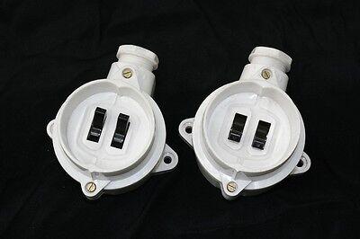 Old Bakelite Switch 1 Dispatch Light Switch Ap Series Switch, Art Deco Loft
