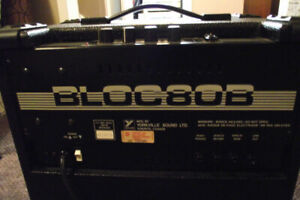 Traynor Bloc 80B Bass Amp  fully serviced   (sell/trade)