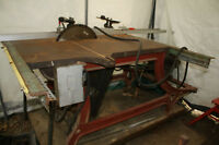 Antique Industrial Table Saw