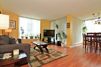 Over 1,200 Sq Ft corner unit with sunny north west view
