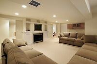 Basement Finishing done right !