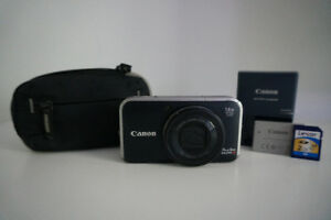 Canon Powershot SX210 IS Camera with Extras
