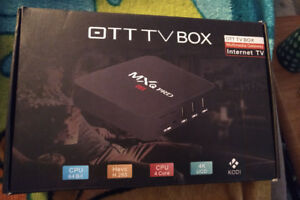 Brand New MXQ Pro Andriod Box 4K