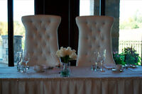 BRIDE and Groom SOFA & His/Her or KingQueen Chairs - CHEAPEST