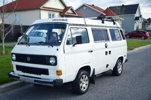 Volkswagen Westfalia vanagon 1985 blanc