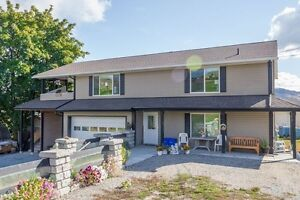 Well built family home in Vernon with Orchard/Mountain Views,