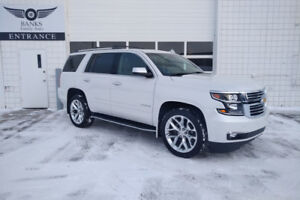 2017 CHEVROLET TAHOE PREMIER 4WD ONLY 33,000KMS!