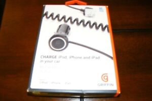 Car Charger for iPhone, iPod or iPad