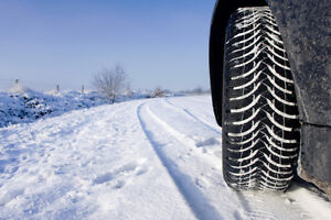 Winter tires on rims for Hyundai Sonata West Island Greater Montréal image 1