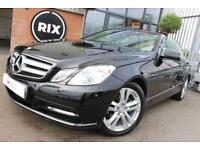 2013 13 MERCEDES-BENZ E-CLASS 2.1 E220 CDI BLUEEFFICIENCY SE 2D 170 BHP DIESEL