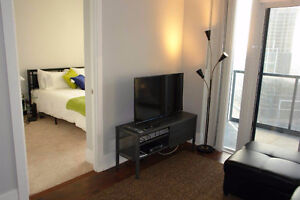 GREAT LOCATION-2 BEDROOM-FULLY FURNISHED-SQUARE ONE-MISSISSAUGA