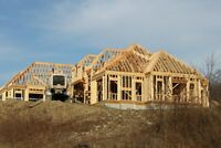 CUSTOM HOME FRAMING - HOME BUILDERS FRAMERS 416 302 6838