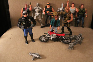 VINTAGE KENNER TERMINATOR TOY LOT 1992