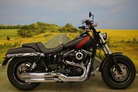 Harley Davidson Fat Bob 2015**R&G HEATED GRIPS, DUAL REAR SUSPENSION**