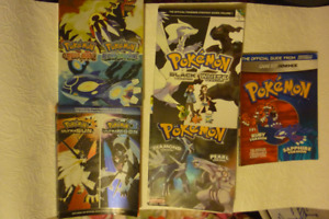 Pokemon DS & 3DS Guides
