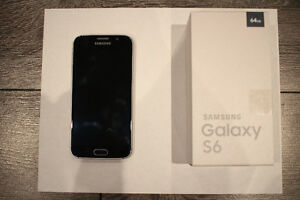 Samsung Galaxy S6 64GB Black Sapphire + Accessories West Island Greater Montréal image 1