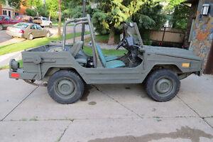 1986 Bombardier Iltis  Canadian Military Army Jeep