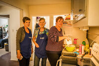 Cooks and Bakers Wanted - Volunters