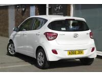 2016 Hyundai i10 1.2 SE Petrol white Automatic