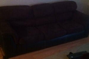 free couch and matching loveseat